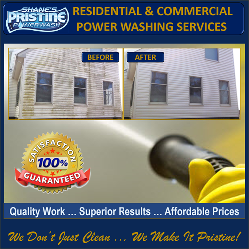 Professional Power/Pressure Washing In Fredericksburg VA